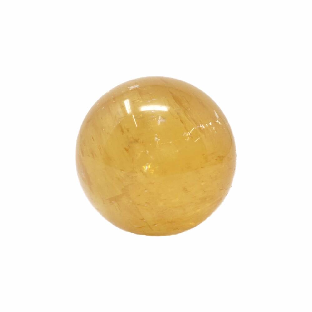 Golden Calcite Sphere