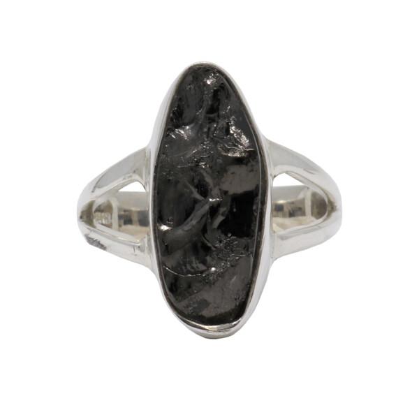 Closeup photo of Shungite Ring Size 6