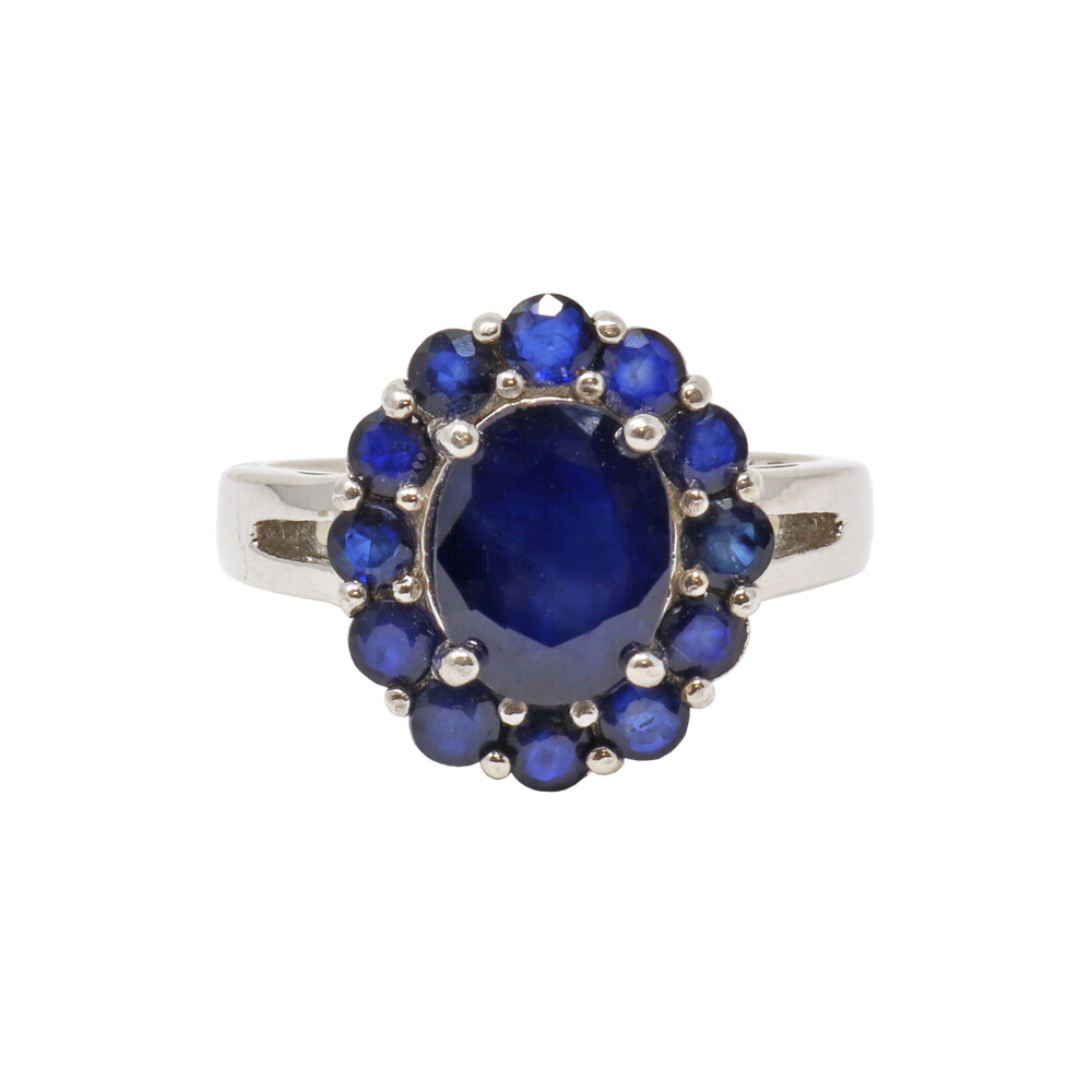 Blue Sapphire Ring Sz9