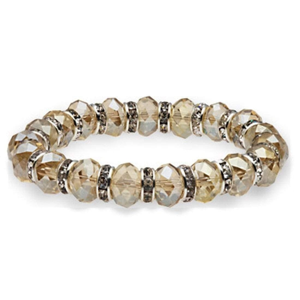 Crystal Bracelet - Silver Shadows