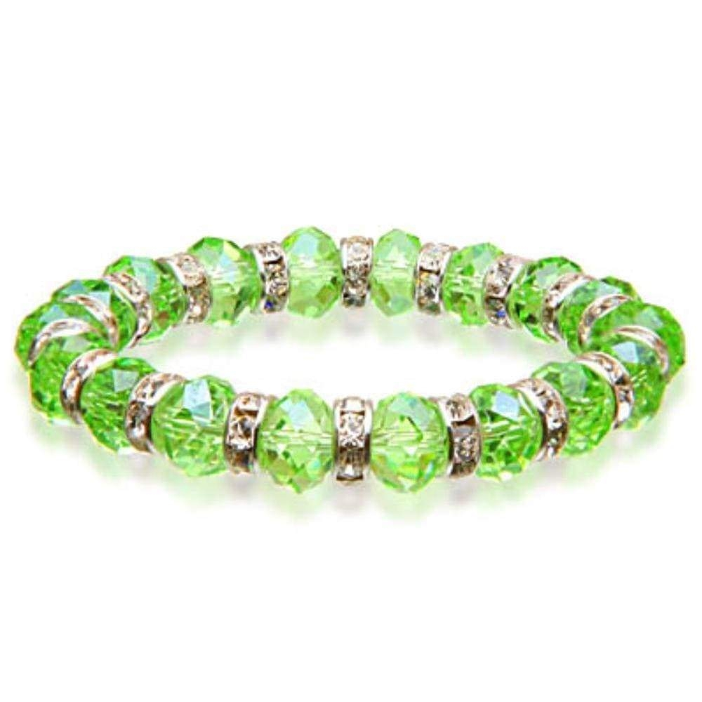 Crystal Bracelet - Peridot Color