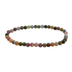 Closeup photo of Multi Tourmaline Bracelet 4mm