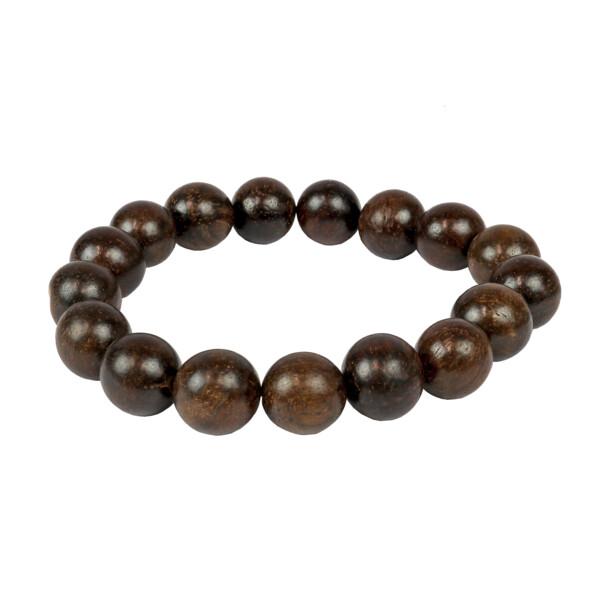 Closeup photo of Black Rosewood Bracelet 12mm
