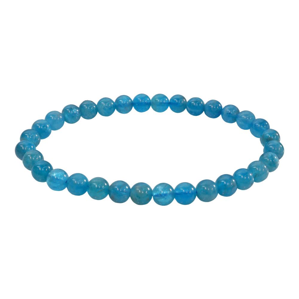 Blue Apatite Bracelet 5 - 6mm