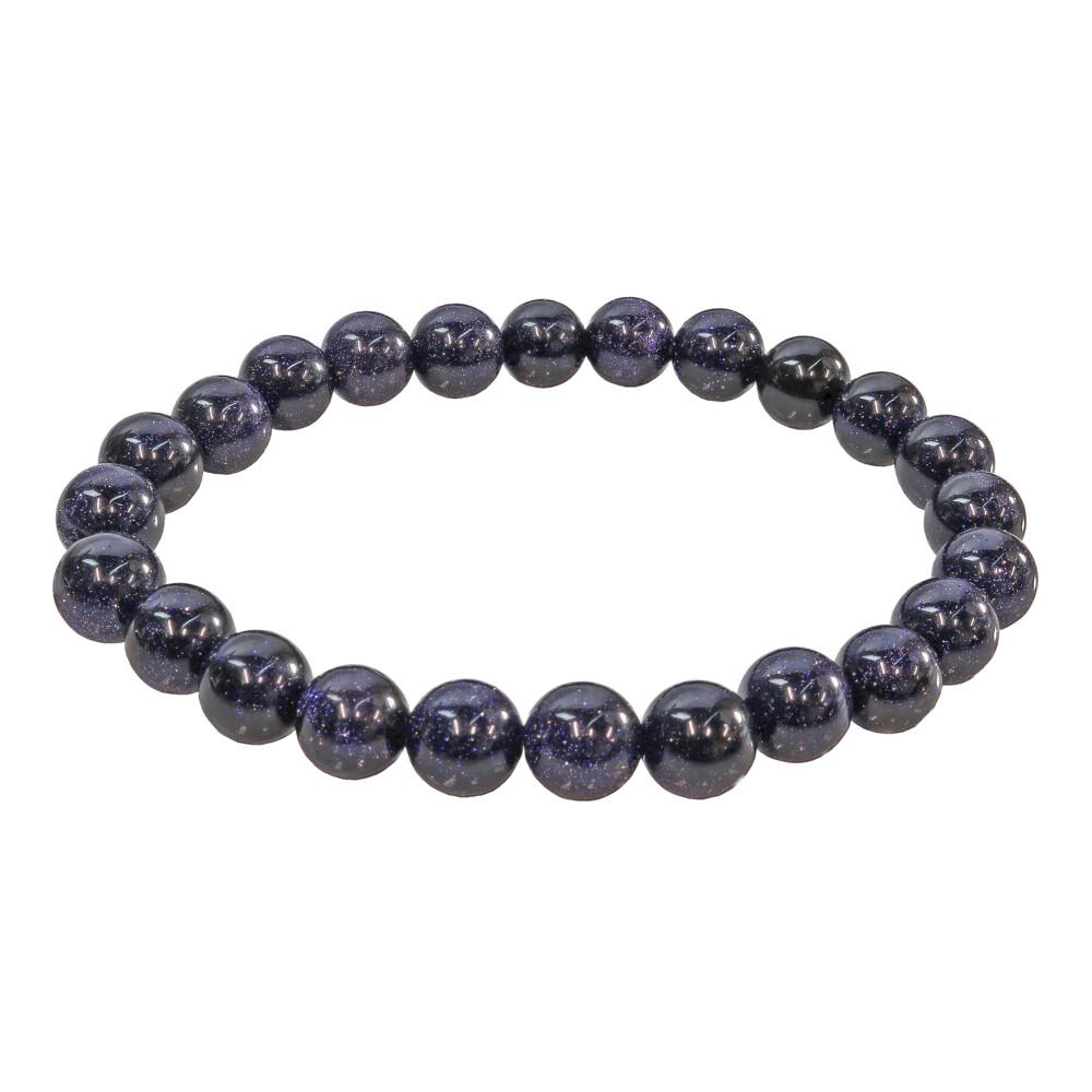 Blue Goldstone Bracelet 8mm