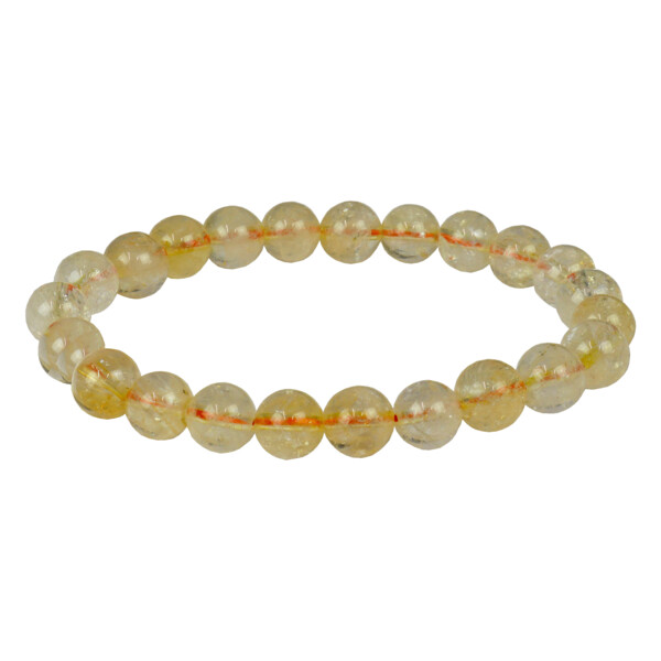 Closeup photo of Citrine Bracelet 8mm