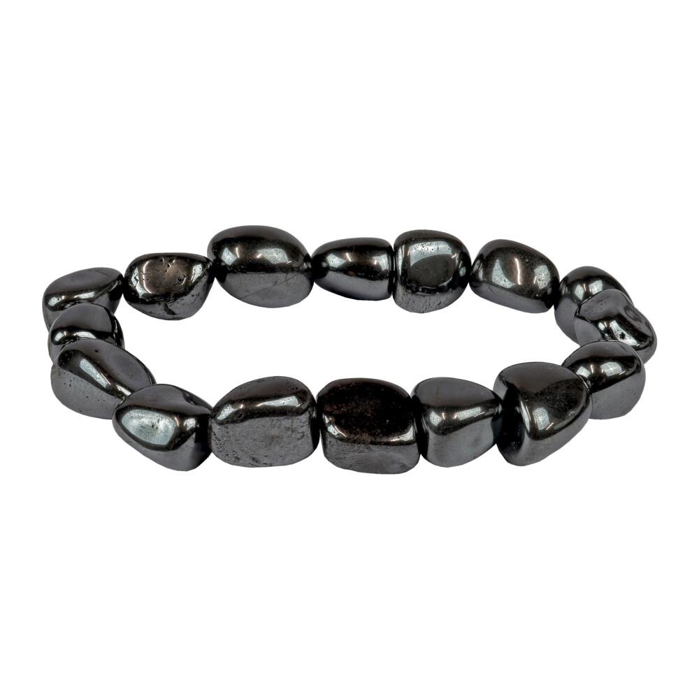 Hematite Tumbled Bracelet