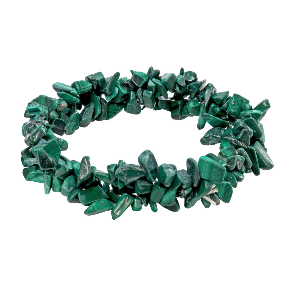 Malachite Triple Weave Bracelet
