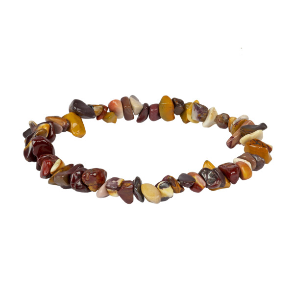 Closeup photo of Mookaite Bracelet Chip