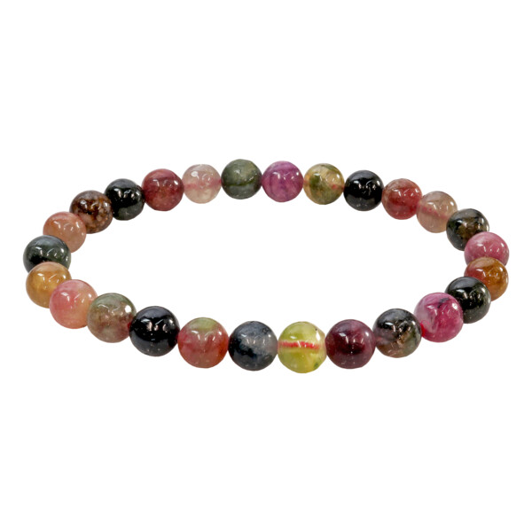 Closeup photo of Multi Tourmaline Bracelet 8mm