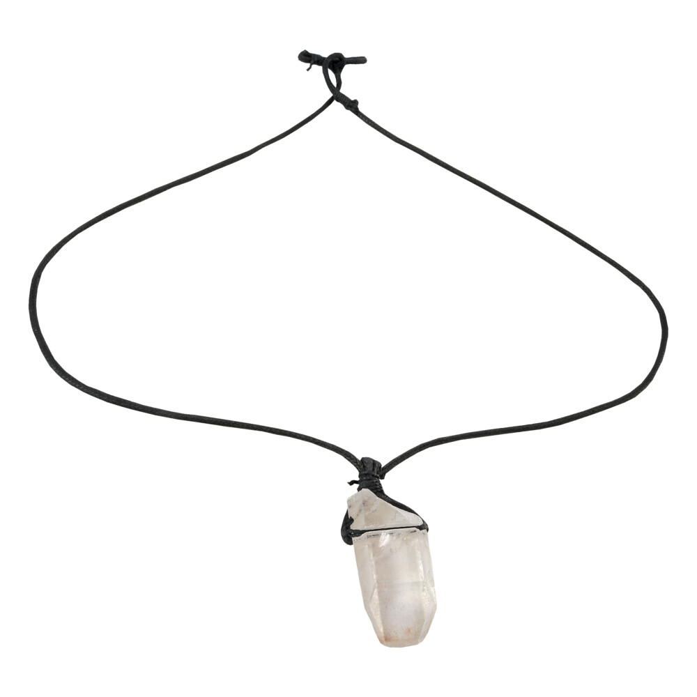Image 2 for Quartz Point Necklace On Cord