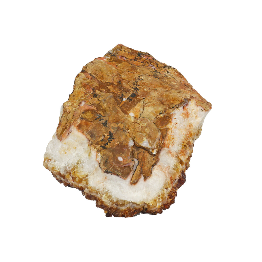 Citrine Druze Cluster Plaque With Acrylic Stand