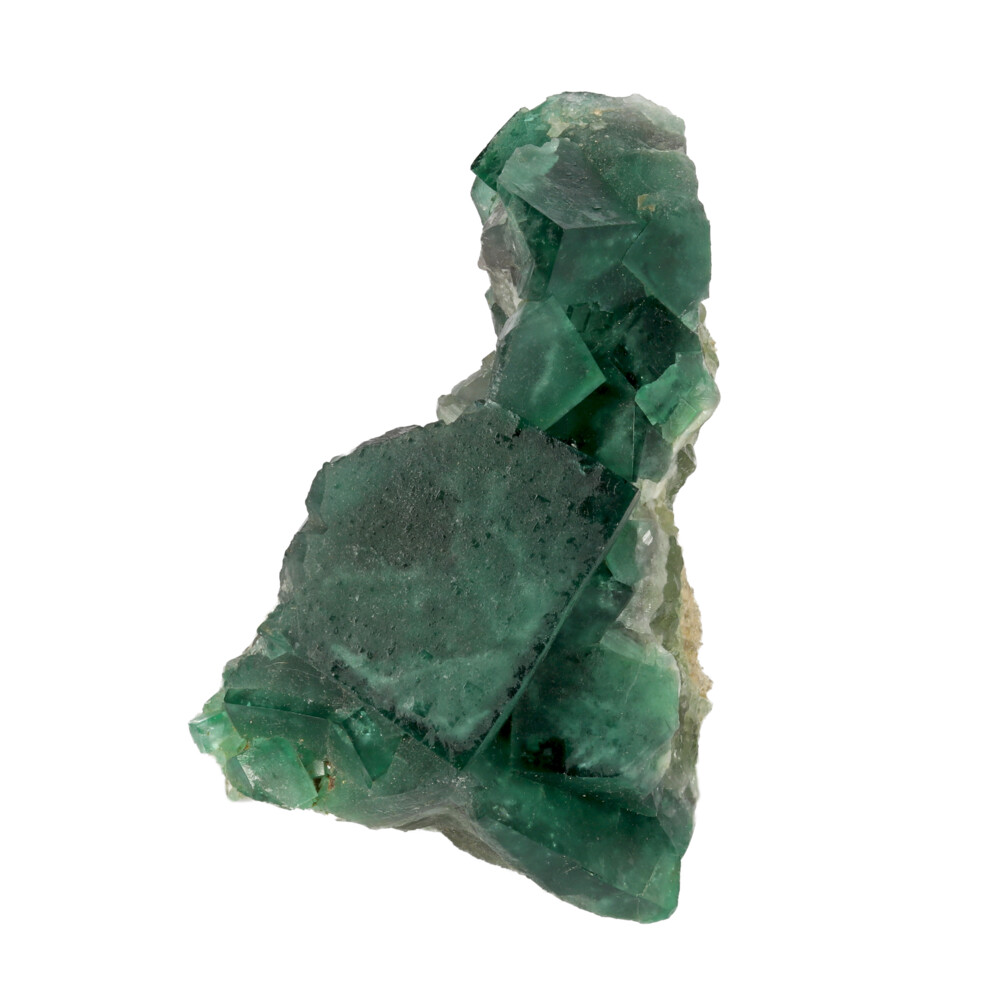 Green Cubic Fluorite Cluster