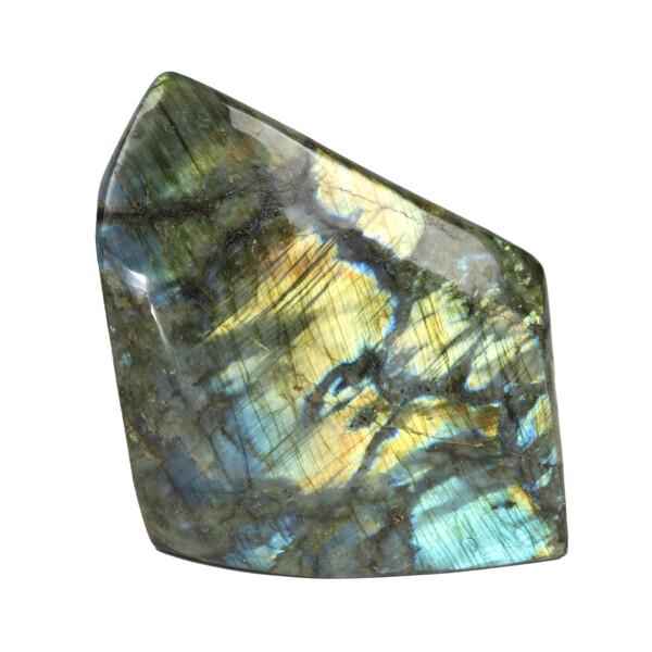 Closeup photo of Labradorite Freeform Polish