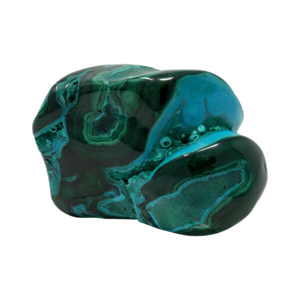 Closeup photo of Chrysocolla Malachite Polished Xq - Polished Free Form