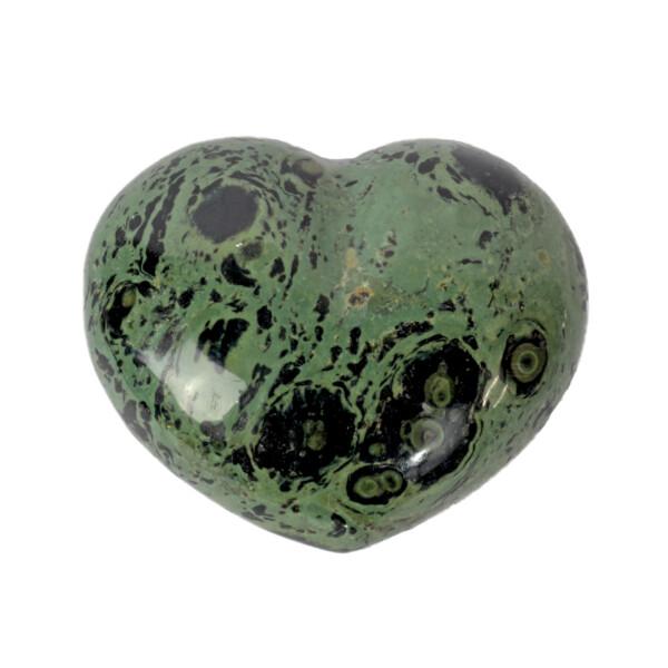 Closeup photo of Green Stromatolite Heart
