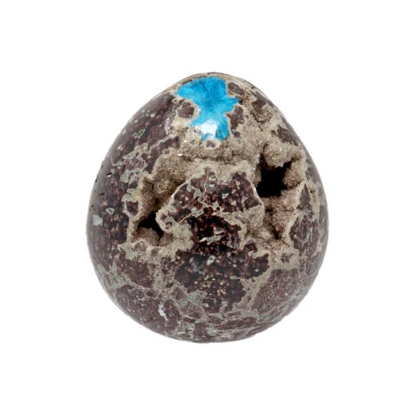 Closeup photo of Cavansite Egg