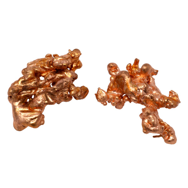 Closeup photo of Michigan Sculptured Copper Specimen - Medium (Singles)