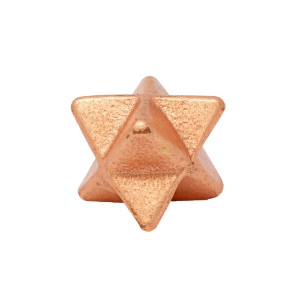 Closeup photo of Mercaba Michigan Copper Star (aka Merkaba)