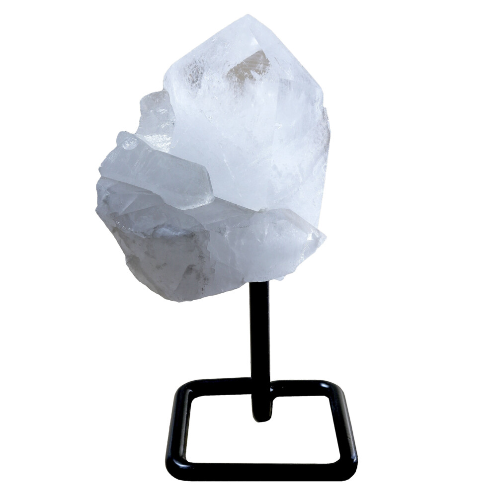 Image 2 for Quartz Cluster On Post Stand