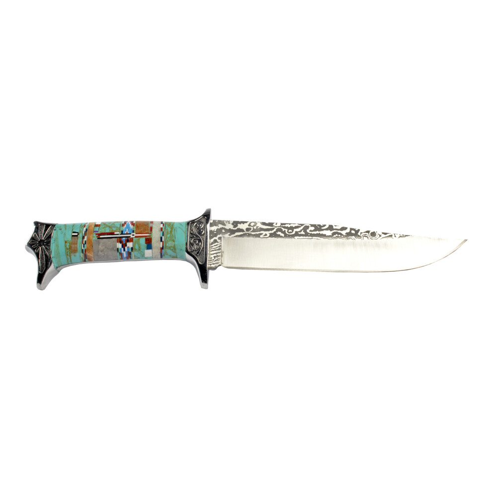 Inlay Engraved Knife