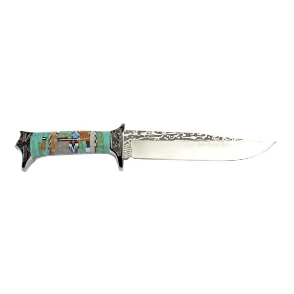 Closeup photo of Inlay Engraved Knife