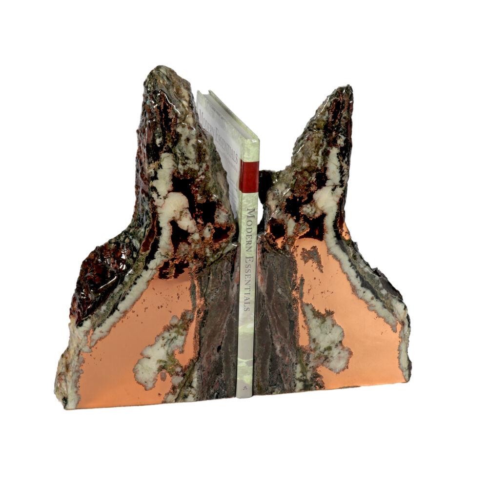 Michigan Native Copper Vein Bookends