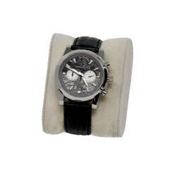 Closeup photo of Muonionalusta Meteorite Watch -Rhodium: Miyota With Chronograph