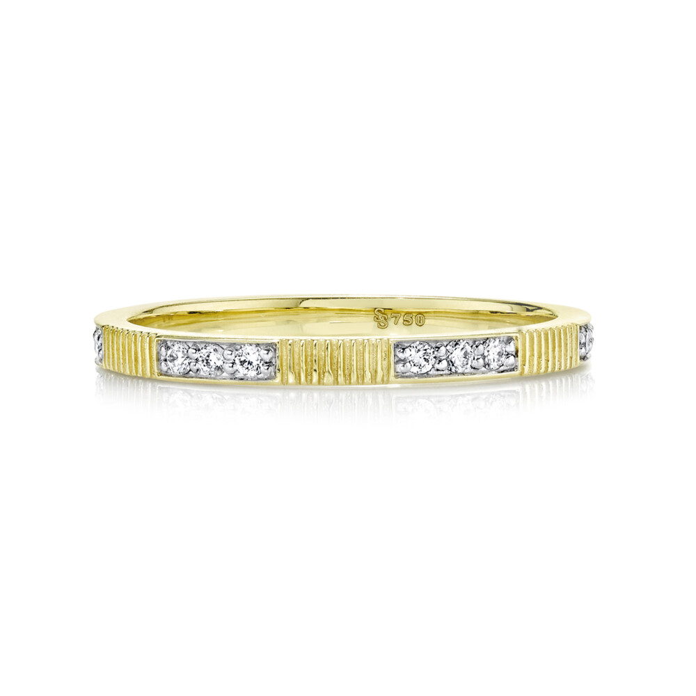 1.5mm Diamond And Strie Band