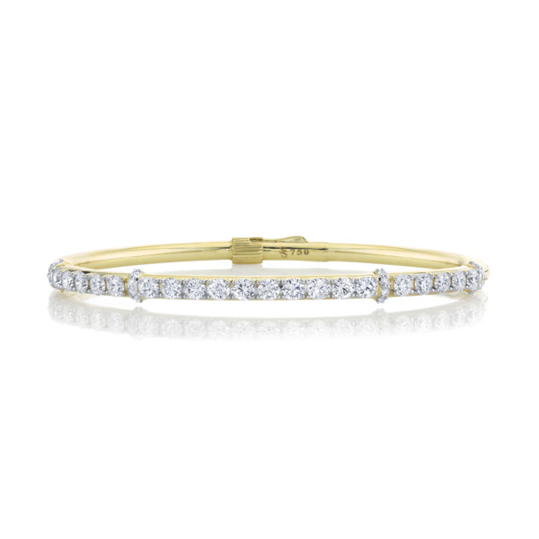 Closeup photo of Classic Diamond Bangle