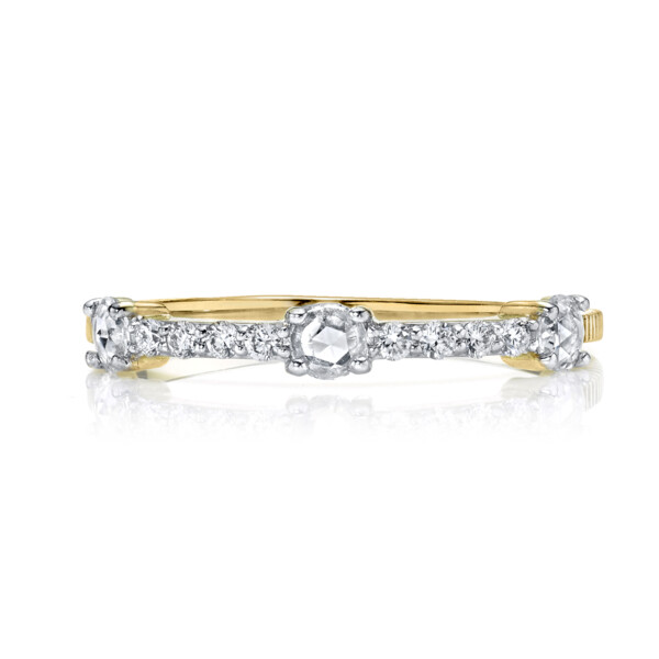 Closeup photo of Rosecut Diamond Dainty Ring