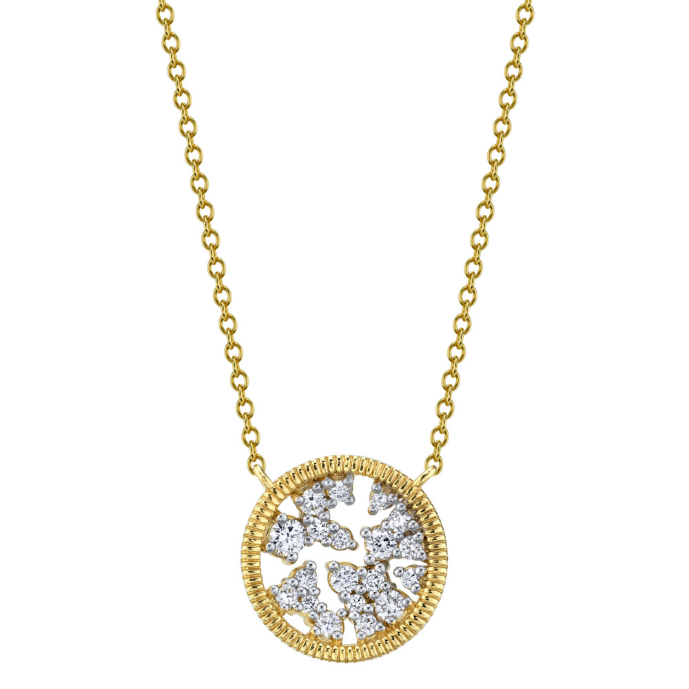 Diamond Celestial Pendant