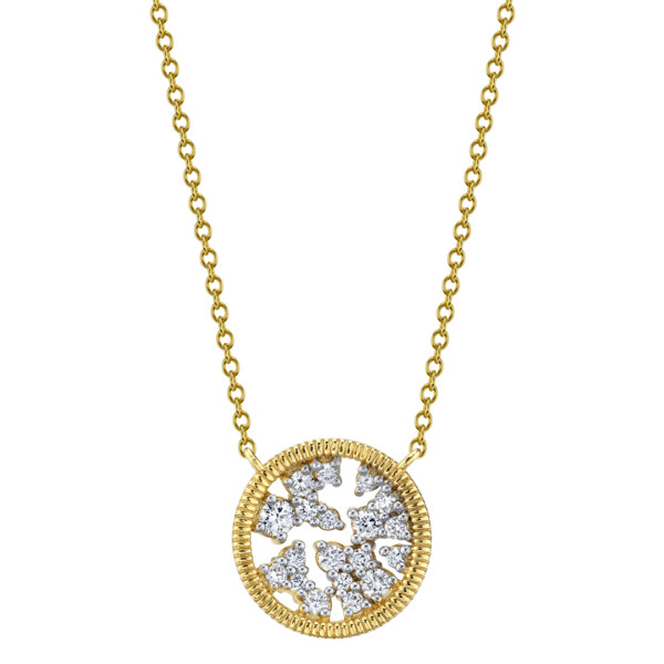 Closeup photo of Diamond Celestial Pendant