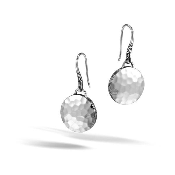 Closeup photo of Drop Earrings Sterling Silver
