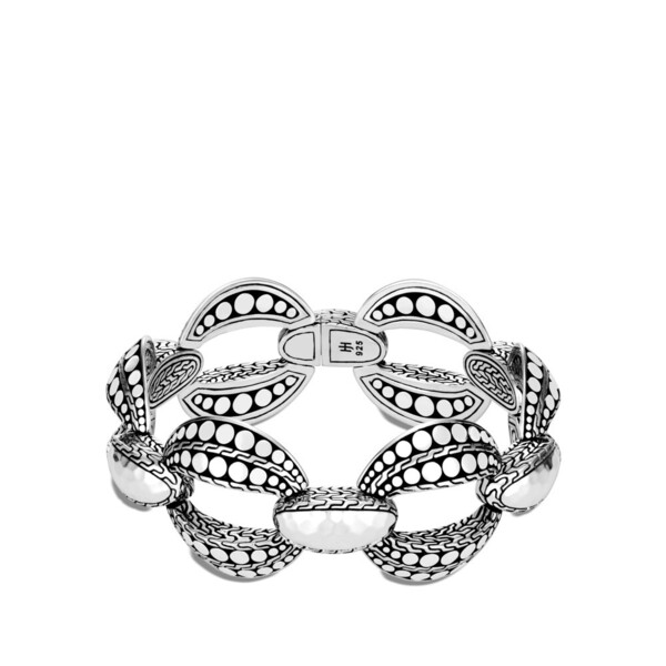 Closeup photo of Dot Link Bracelet Sterling Silver