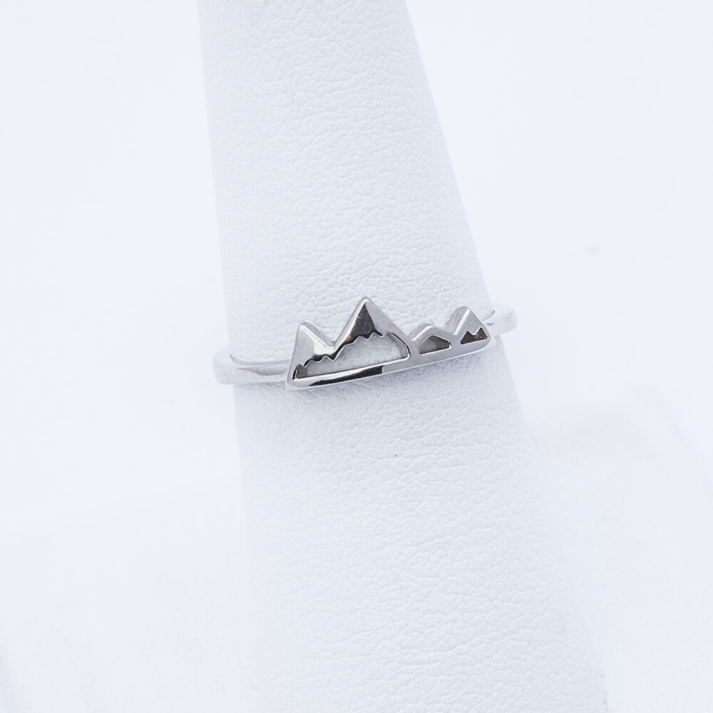 Sterling Silver Mtn Ring