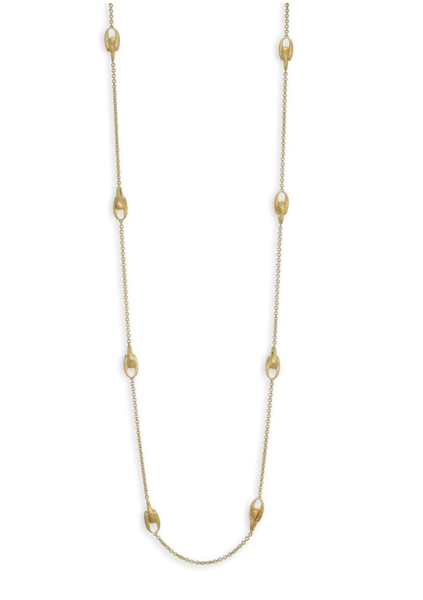 Closeup photo of Gold Lucia Necklace