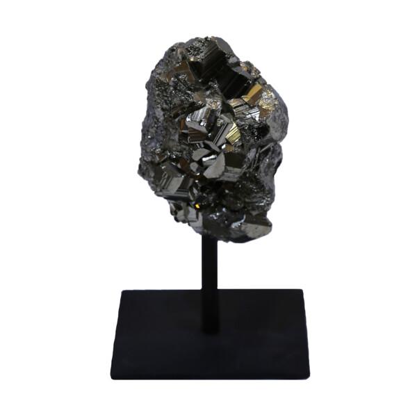 Closeup photo of Peru Pyrite