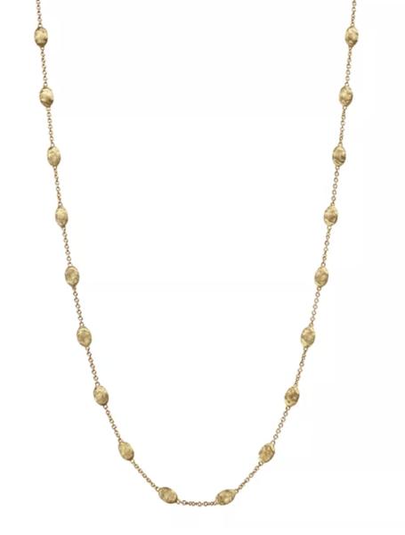 Closeup photo of Marco bicego necklace