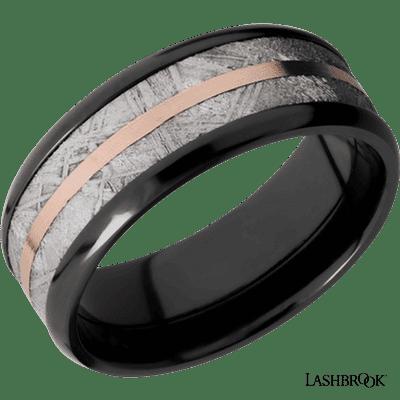 Closeup photo of Zirconium ring