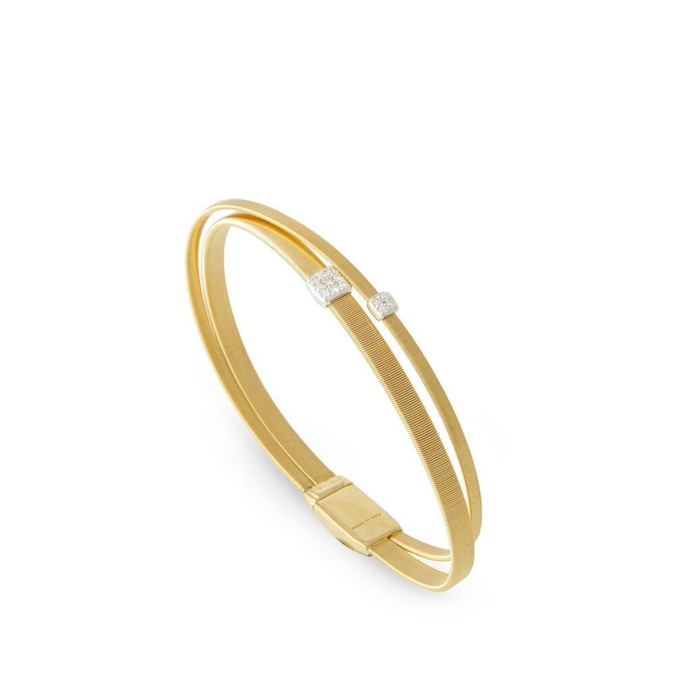 Masai 18kt Gold Bracelet Dia ctw 0.10