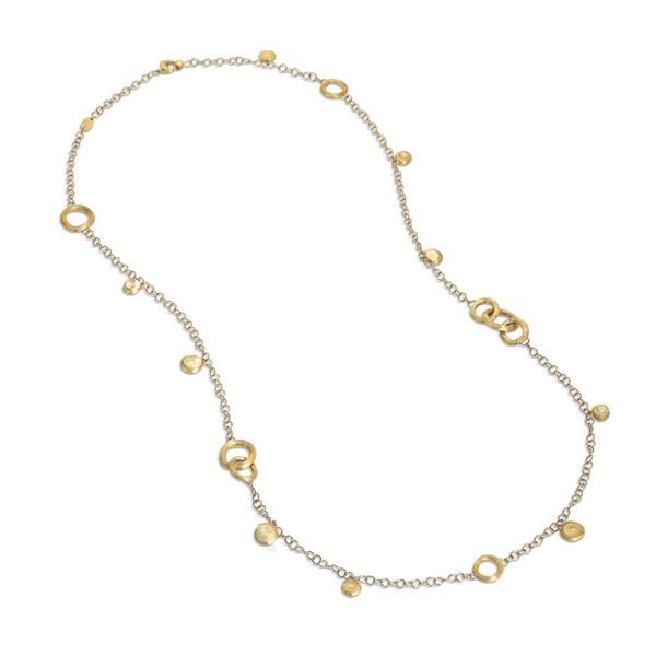 Closeup photo of Jaipur Link 18kt Gold Necklace