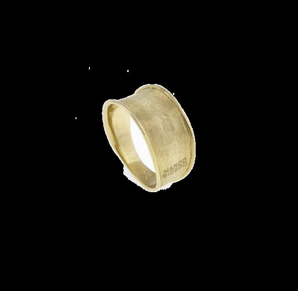 Closeup photo of Lunaria 18kt Gold Ring