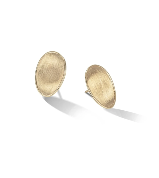 Closeup photo of Marco 18K Lunaria Earrings