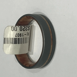 Closeup image for View Kurtulan 24K Gold & Oxidized Hammered Silver & Polished Silver Bangle Set