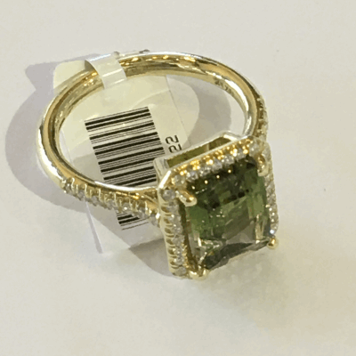 Yellow cable and rose cable, 18 karat White Gold, 0.05   total carat weight Diamonds and stainless steel. Imported. - 04-39-S814-11