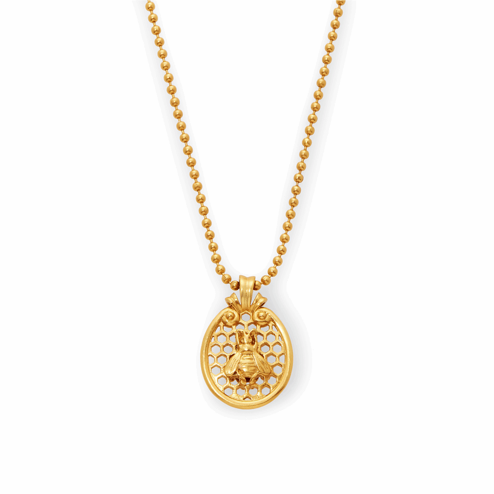 Honeycomb Charm Necklace