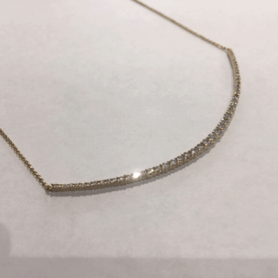 DNA Shine Bracelet w/Large Magnetic Bead Clasp. Sterling Silver with an 18K Rose Gold Vermeil.