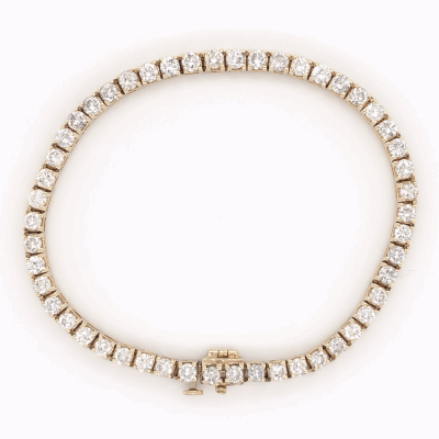 Metalworks Full Bracelet with Polvere Di Sogni Bar. The Sterling Silver feature a Ruthenium Plating. Beads are on spring steel, making this bracelet stretchable and easy to wear.