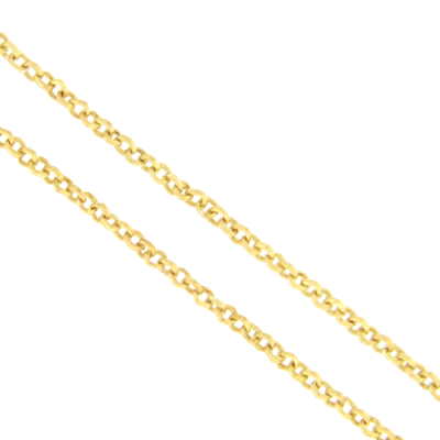 A stunning handpicked Classic Rolo Yellow Gold Necklace 30 by designer Cynthia Ann Jewels
